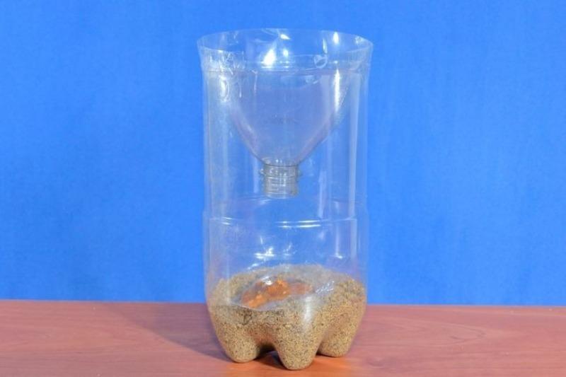 10 корисних виробів з пластикових пляшок, яким знайдеться застосування на дачі