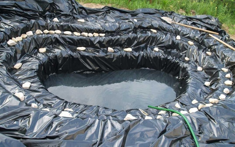 5 швидких і недорогих способів створити водойму на ділянці