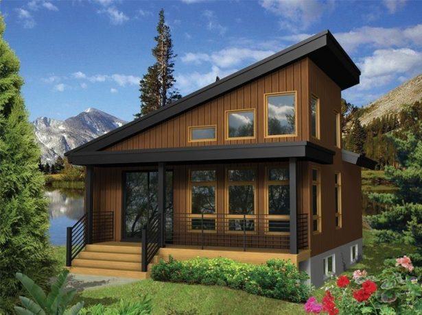 Будинки з односхилим дахом: нове-це добре забуте старе