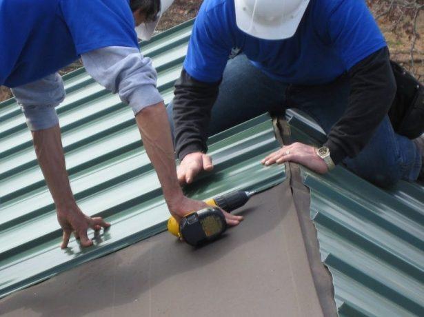 Конструкція покрівельного пирога для даху з металочерепиці