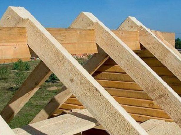 Кроквяна система двосхилим даху: розраховуємо і монтуємо самостійно