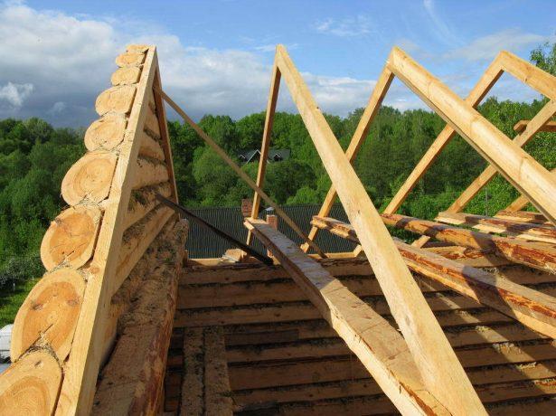 Фронтон даху: порядок виконання розрахункових і будівельних робіт