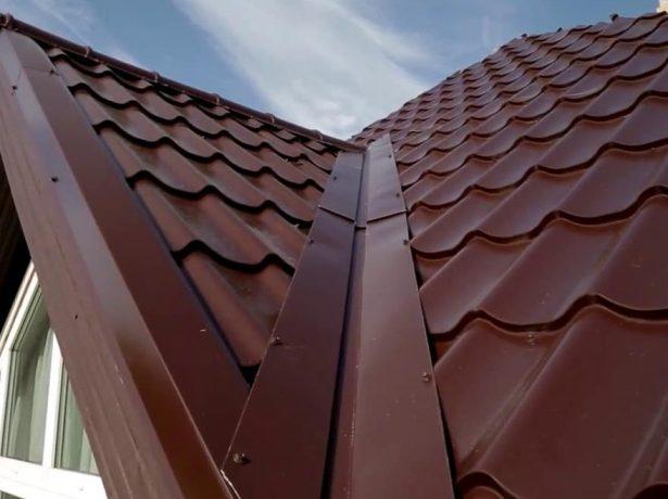 Ендова даху: призначення, типи, особливості монтажу