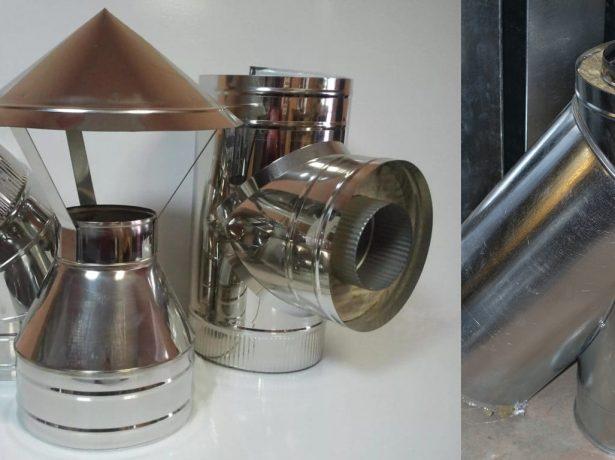 Сендвіч-труба для димоходу: переваги, недоліки, особливості монтажу