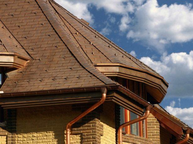 Водостік даху: типи, матеріал виготовлення, особливості облаштування та розрахунку