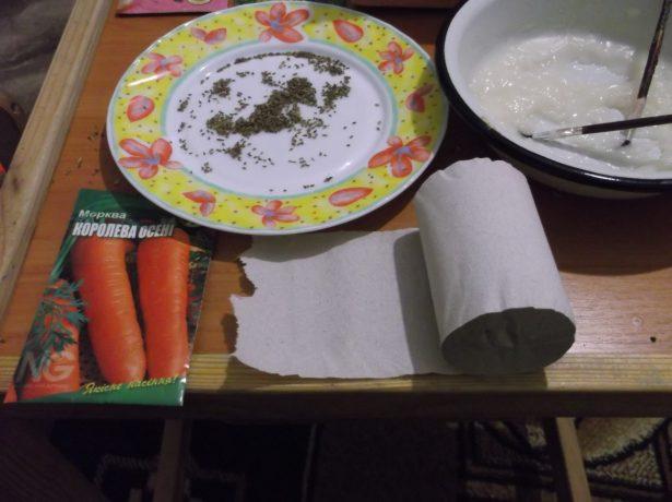 Самостійне виготовлення стрічки з насінням для легкої посадки грядок