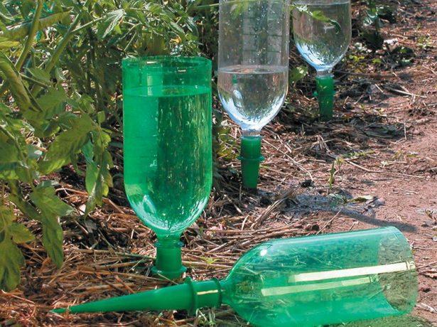 Як зробити крапельний полив своїми руками з пластикових пляшок