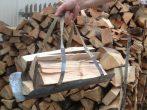 Як зробити перенесення для дров своїми руками